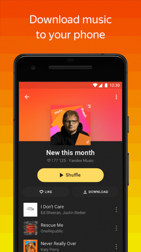 Yandex Music — listen and download v2020.09.1 [MP3 PLUS Mod]