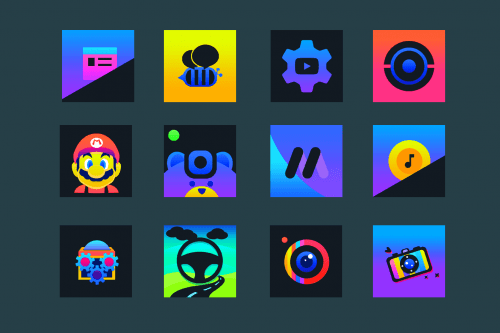 Ontrax - Icon Pack v1.6.2 [Paid]