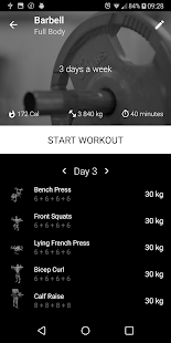 Barbell Home Workout v1.23 [PRO][MOD][SAP]