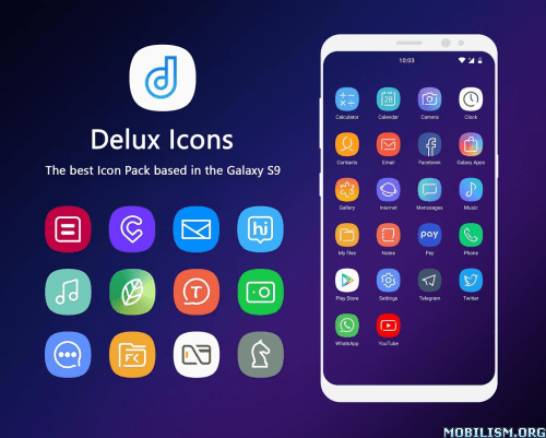 Delux - Icon Pack v2.2.5 [Patched]