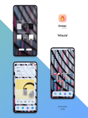 Ember for KLWP vv2020.Aug.17.12 [Paid]