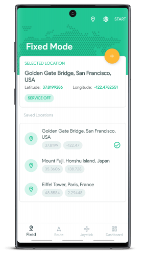 Fake GPS Location v4.1.16 [Premium] [Mod]