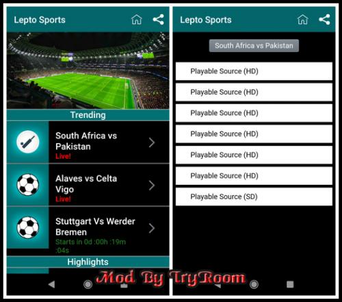 Lepto Sports v1.0.0 [Mod]